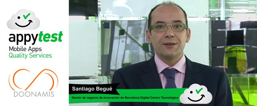 Entrevista a Santiago Begué para Doonamis, desarrollo de apps